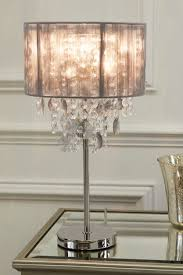smoke palazzo table lamp