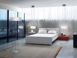 Good Best Idea Of Bedroom Lighting Design With White Curtain