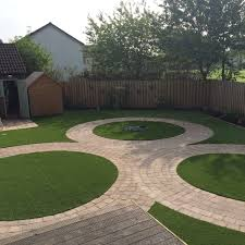 Small Picture Artificial Grass with Tegula Paving Edinburgh EH12 The