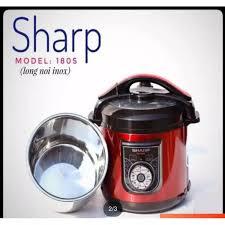Nồi Áp Suất Điện Sharp KS-180S Lòng Nồi Inox 6l
