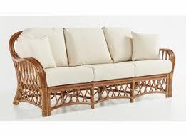 Crystal Lake Rattan Sofa