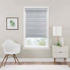 Cordless Celestial Sheer Double Layered Light Filtering Shade Cordless Celestial Room Darkening Double Layered Shade Oyster