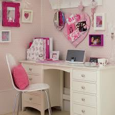 romantic decor home office. teen desk sweet and comfy pink kids room designs romantic study decor home office o
