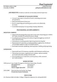 Inventory Control Resume Unique Functional Resume Sample Inventory Control Supervisor Inventory