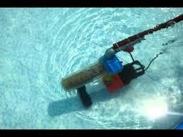 Self-made swimming pool vacuum cleaner