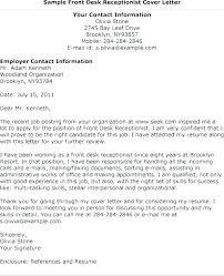 Dental Receptionist Cover Letter Cover Letter Sample Receptionist Entry Level Medical Receptionist