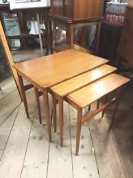 vintage teak furniture. Image Is Loading Vintage-Retro-Teak-Danish-Gelsted-RB-Nest-Tables- Vintage Teak Furniture