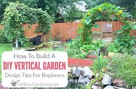 building a vertical garden diy tips for beginners