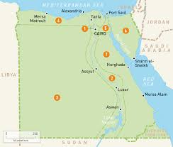 map of egypt egypt regions rough guides Egypts Map area map of egypt egypt map