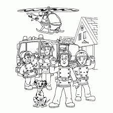Brandweerman Sam Kleurplaat Printen Mandala Kleurplaat Voor Kinderen