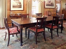dark mahogany furniture. Antique Mahogany Dining Room Sets For Special Furniture Application : Interesting Design Implemented With Dark -