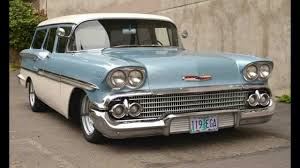 1958 Chevrolet Nomad or Yeoman Fan Movie - YouTube
