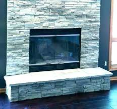 exterior stone veneer cost per square foot resurfacing fireplace with reface to w stone veneer cost