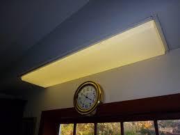 home maintenance replacing a lens on an overhead fluorescent light fixture