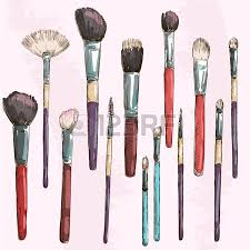 makeup face sketches photo brushes makeup face sketches brushes makeup face sketches brushes makeup brush drawing