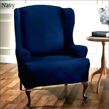 navy blue armchair s leather sectional sofas velvet chair covers arm