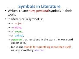 sift a literary analysis method ppt video online  4 symbols in literature