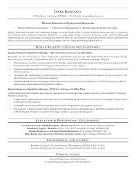 Hr Manager Resume Hr Manager Resume Sample Human Resource Resumes Hr