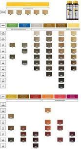 Redken Color Gels Lacquers Color Chart Pinterest