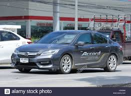 new car 2016 thailandCHIANGMAI THAILAND  OCTOBER 6 2016 Private car Honda accord