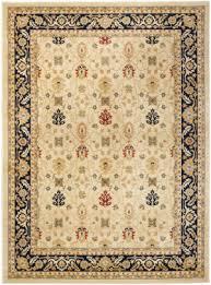 safavieh austin aus1620 1170 cream navy area rug