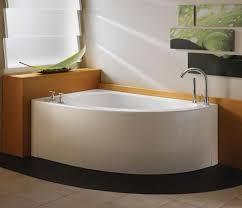 neptune wind 60 lovely freestanding corner bathtub white drain right wi60