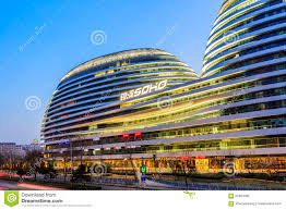 famous modern architecture. Brilliant Modern Download Beijing Famous Modern Architecture Galaxy SOHO Night View In  China Editorial Photography  Image Inside N