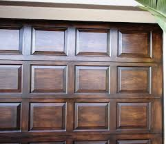 wood garage doorBest Faux Garage Door Ideas