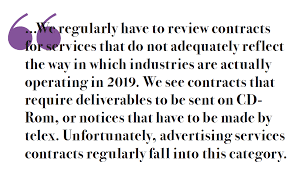 Advertising By Numbers What Modern Advertising Contracts