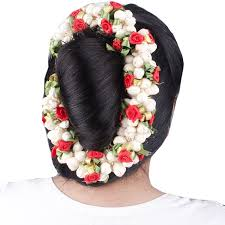 Flower Hair Style buy gajra veni artificial hair flowers hair accessories set of 8556 by wearticles.com