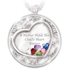 a mother holds her child s heart personalized pendant necklace