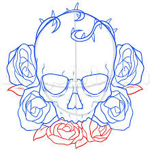 Small Picture Top 25 best Skull and rose drawing ideas on Pinterest Skull