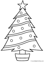 Small Picture Christmas Tree Coloring Page Christmas