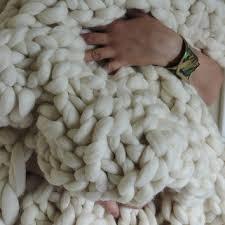 chunky knit blanket australian merino wool blanket chunky blanket