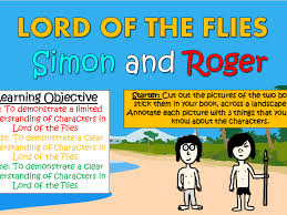 lord of the flies simon and roger by tandlguru teaching  lord of the flies simon and roger by tandlguru teaching resources tes