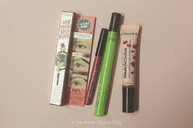 so recently i ped for some new makeup from sephora they rel in india on nnnow and here s what i got