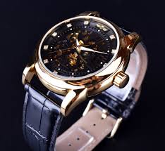aliexpress com buy winner royal diamond design black gold watch aliexpress com buy winner royal diamond design black gold watch montre homme mens watches top brand luxury relogio male skeleton mechanical watch from