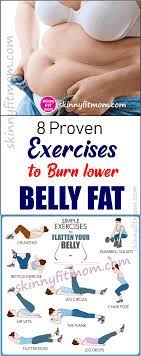 8 proven exercises to burn lower belly fat