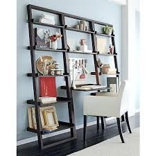 leaning bookshelf desk leaning shelf desk plans