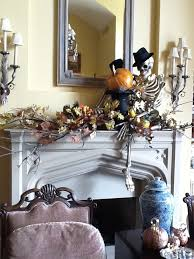 mantel display by Nell Hill - needs different chapeau ;