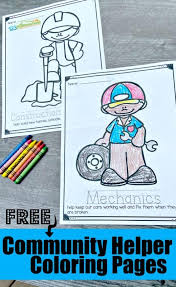 Our letter a mindful colouring sheet is full of lots of detail. Free Community Helpers Coloring Pages