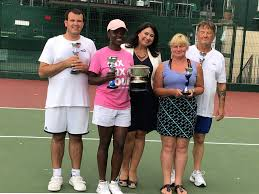 Brenda Cassell Wins Visually Impaired Tennis Tournament in ...