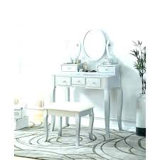 vanity chair makeup table white