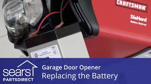 Garage Door coleman garage door opener pics : Replacing the Battery on a Garage Door Opener - YouTube