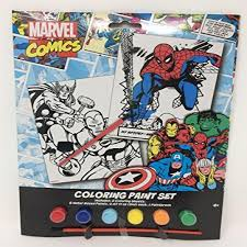 Get the latest news, original content, and special offers from marvel. Tri Coastal Design Marvel Comics Coloring Paint Set With Iron Man Spiderman And Thor