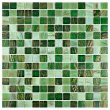 coppa forest 12 in x 12 in x 4 mm glass mosaic tile