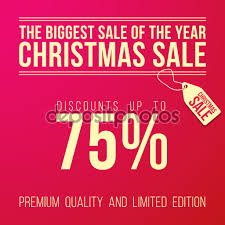 christmas ad big discount designed in a modern style christmas ad big discount designed in a modern flat style on red background vector by marinv