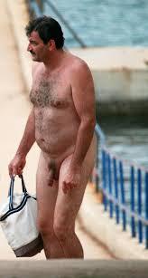 Hairy nude beach men