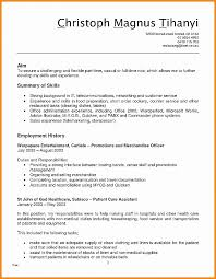 Resume. Fresh Resume Template For Bartender: Resume Template For ...