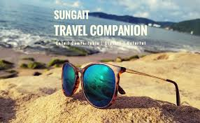 SUNGAIT <b>Vintage Round Sunglasses</b> for Women Classic <b>Retro</b> ...